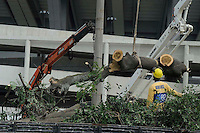 RIO DE JANEIRO, RJ, 30 DE MAIO 2013 - OBRAS MARACANA - Vista do canteiro de obras na tarde desta quinta-feira. 30 Foto: Ingrid Cristina /Brazil Photo Press.
