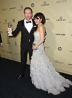 BEVERLY HILLS, CA - JANUARY 13: Damian Lewis and Helen McCrory at the The Weinstein Company 2013 Golden Globes After Party at the Beverly Hilton Hotel in Beverly Hills, California on January 13, 2013. Credit:  MediaPunch Inc. /NortePhoto
