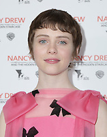 10 March 2019 - Los Angeles, California - Sophia Lillis. World Premiere of 'Nancy Drew and the Hidden Staircase' held at AMC Century City 15. Photo Credit: PMA/AdMedia