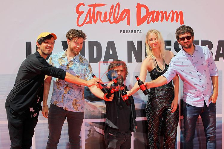 Estrella Damm presenta:<br /> La Vida Nuestra.<br /> Marcel Borras, Alvaro Cervantes, Peter Dinklage, Ingrid Garcia-Jonsson &amp; Raul Arevalo.