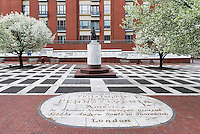 Welcome Park dedicated to William Penn, Philadelphia, Pennsylvania, USA