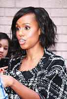 NEW YORK, NY - OCTOBER 5: Kerry Washington at ABC's The View in New York City on October 5, 2017. <br /> CAP/MPI/RW<br /> &copy;RW/MPI/Capital Pictures