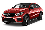2017 Mercedes Benz GLE-Coupe AMG-43 2 Door SUV Angular Front stock photos of front three quarter view