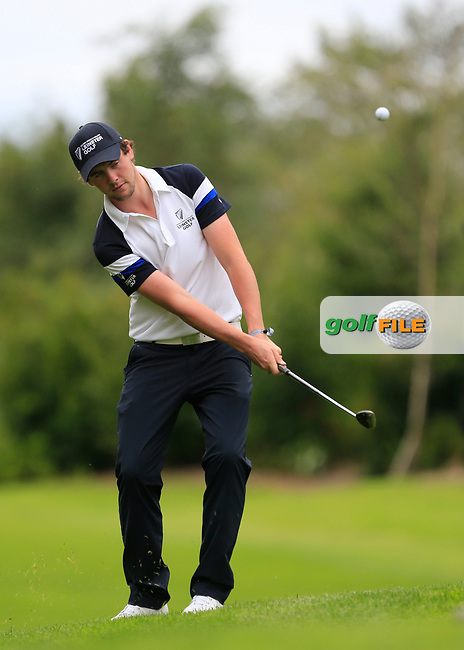 Robert Brazill (Leinster) during final day foursomes at the Interprovincial Championship 2018, Athenry golf club, Galway, Ireland. 31/08/2018.<br /> Picture Fran Caffrey / Golffile.ie<br /> <br /> All photo usage must carry mandatory copyright credit (© Golffile | Fran Caffrey)