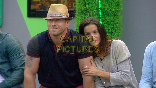 James Jordan and Edele Lynch<br /> in Celebrity Big Brother - Summer 2014 (Day 7)<br /> *Editorial Use Only*<br /> CAP/NFS<br /> Image supplied by Capital Pictures