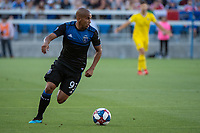 San Jose, CA - Saturday August 03, 2019: Judson #11 in a Major League Soccer (MLS) match between the San Jose Earthquakes and the Columbus Crew at Avaya Stadium.