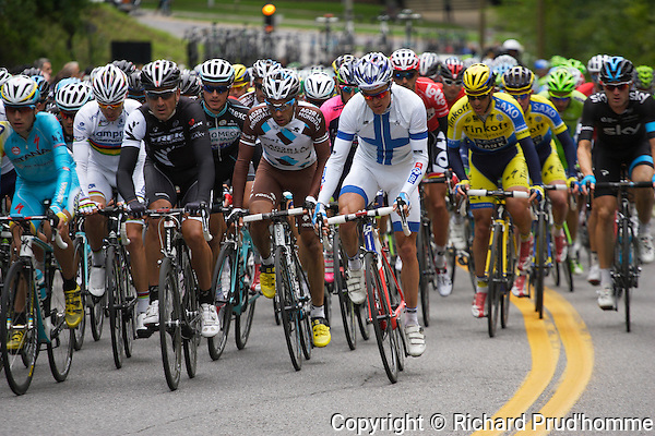 the Grand Prix cycliste in Montreal