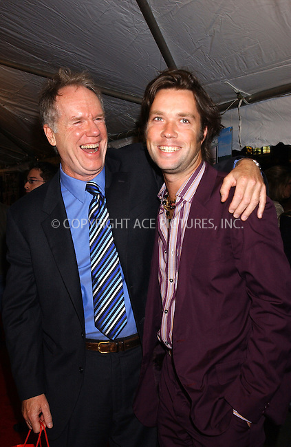 WWW.ACEPIXS.COM . . . . . ....New York City, October 10 2005....Loudon Wainwright and Rufus Wainwright arriving at the Premiere of 'Elizabethtown' New York Premiere at Loews Loncoln Centre.....Please byline: KRISTIN CALLAHAN - ACE PICTURES.. . . . . . ..Ace Pictures, Inc:  ..Craig Ashby (212) 243-8787..e-mail: picturedesk@acepixs.com..web: http://www.acepixs.com