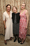 """Laurie Metcalf, Glenda Jackson and Alison Pill  during the Opening Night After Party for """"Three Tall Women"""" at the Bowery Hotel on 3/29/2018 in New York City."""