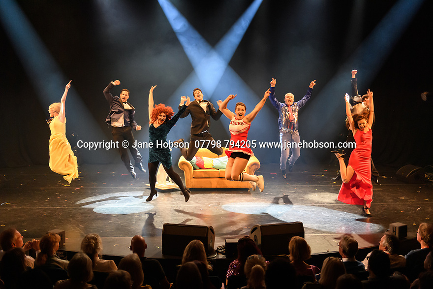 Assembly Festival Gala Launch at the Edinburgh Festival Fringe. Assembly presents a showcase of a number of productions and acts to launch their Fringe 2019, at the Assembly Hall, Edinburgh. Picture shows: Friendsical.