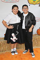 UNIVERSAL CITY, CA - OCTOBER 21:  Raini Rodriguez and Rico Rodriguez at the Camp Ronald McDonald for Good Times 20th Annual Halloween Carnival at the Universal Studios Backlot on October 21, 2012 in Universal City, California. ©mpi28/MediaPunch Inc. /NortePhoto