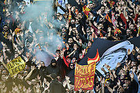 Lecce supporters<br /> Roma 10-11-2019 Stadio Olimpico <br /> Football Serie A 2019/2020 <br /> SS Lazio - Lecce<br /> Foto Antonietta Baldassarre / Insidefoto