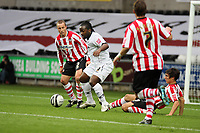 Pictured: Jason Scotland of Swansea City in action <br /> Re: Coca Cola Championship, Swansea City Football Club v Southampton at the Liberty Stadium, Swansea, south Wales 25 October 2008.<br /> Picture by Dimitrios Legakis Photography, Swansea, 07815441513