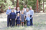Family Reunion, Redwoods in Yosemite, Yosemite National Park, California, June 23, 2014, <br />