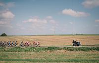 peloton paced by teams Cofidis &amp; Trek-Segafredo<br /> <br />  59th Grand Prix de Wallonie 2018 <br /> 1 Day Race from Blegny to Citadelle de Namur (BEL / 206km)