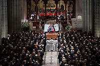 Former president George Herbert Walker Bush memorial ceremony at the National Cathedral in Washington, Wednesday,  Dec.. 5, 2018.  <br /> Credit: Doug Mills / Pool via CNP / MediaPunch