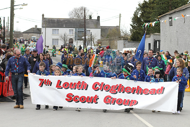 at the 2011 St.Patrick's Day Parade in Dunleer...(Photo credit should read Jenny Matthews/www.newsfile.ie)....This Picture has been sent you under the conditions enclosed by:.Newsfile Ltd..The Studio,.Millmount Abbey,.Drogheda,.Co Meath..Ireland..Tel: +353(0)41-9871240.Fax: +353(0)41-9871260.GSM: +353(0)86-2500958.email: pictures@newsfile.ie.www.newsfile.ie.