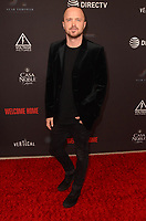 WEST HOLLYWOOD, CA - NOVEMBER 4: Aaron Paul at the L.A. Premiere for Welcome Home at  The London in West Hollywood, California on November 4, 2018. <br /> CAP/MPI/DE<br /> &copy;DE/MPI/Capital Pictures