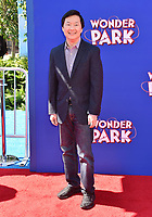 WESTWOOD, CA - MARCH 10: Ken Jeong arrives for the Premiere Of Paramount Pictures' 'Wonder Park' held at Regency Bruin Theatre on March 10, 2019 in Los Angeles, California.<br /> CAP/ROT/TM<br /> &copy;TM/ROT/Capital Pictures