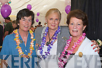 Enjoying the Rose BBQ at the dome on Monday were Margaret O'Keeffe 1964 Rose of Tralee Joaie Ruane 1961 Rose of Tralee and Therese Gillespie  1965 Rose of Tralee.