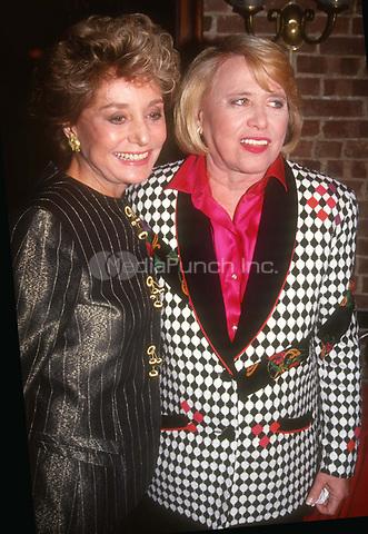 #BarbaraWalters #LizSmith 1992<br /> Photo by John Barrett/PHOTOlink.net / MediaPunch
