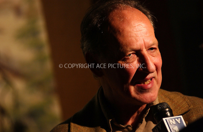 WWW.ACEPIXS.COM . . . . . ....NEW YORK, JULY 20, 2005....Werner Herzog at the Grizzly Man screening held at the American Museum of Natural History.  ....Please byline: KRISTIN CALLAHAN - ACE PICTURES.. . . . . . ..Ace Pictures, Inc:  ..Craig Ashby (212) 243-8787..e-mail: picturedesk@acepixs.com..web: http://www.acepixs.com