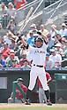 Ichiro Suzuki (Marlins),<br /> MARCH 22, 2015 - MLB : Ichiro Suzuki of the Miami Marlins bats during s spring training game at Roger Dean Stadium in Jupiter, Florida, United States.<br /> (Photo by AFLO)