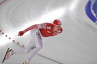 SCHAATSEN: BERLIJN: Sportforum, 06-12-2013, Essent ISU World Cup, Team Russia, 1500m Men Division A, Ivan Skobrev (RUS), ©foto Martin de Jong