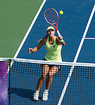 Angelique Kerber (GER) during her semifinal match against Elina Svitolina (UKR) at the Bank of the West Classic in Stanford, CA on August 8, 2015. Kerber defeated Svitolina by 63 61 to advance to Sunday's final.