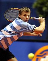 20031212, Rotterdam, LSI Masters, Fred Hemmes in zijn partij tegen Middelkoop