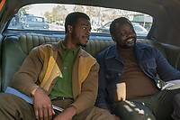 Stephan James & Brian Tyree Henry<br /> If Beale Street Could Talk (2018) <br /> *Filmstill - Editorial Use Only*<br /> CAP/RFS<br /> Image supplied by Capital Pictures