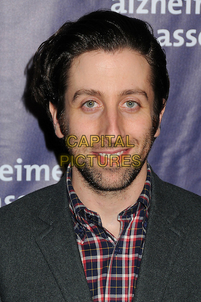 18 March 2015 - Beverly Hills, California - Simon Helberg. 23rd Annual &quot;A Night at Sardi's&quot; Benefit for the Alzheimer's Association held at The Beverly Hilton Hotel. <br /> CAP/ADM/BP<br /> &copy;BP/ADM/Capital Pictures