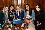 Sarah McMannon, Tara Dillon, Emma and Amy gallagher pictured at 12 hour music marathon held in McPhail's in aid of St Michael's House Services. Photo:Colin Bell/pressphotos.ie