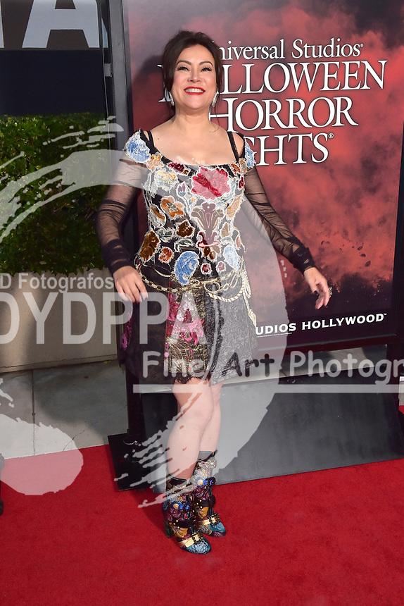 Jennifer Tilly bei der Eröffnung der 'Halloween Horror Nights' in den Universal Studios. Universal City, 15.09.2017