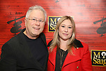 """Alan Menken and Anna Menken attends The Opening Night of the New Broadway Production of  """"Miss Saigon""""  at the Broadway Theatre on March 23, 2017 in New York City"""