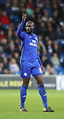 31st October 2017, Cardiff City Stadium, Cardiff, Wales; EFL Championship football, Cardiff City versus Ipswich Town; Sol Bamba of Cardiff City
