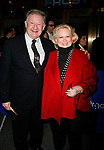 Harvey Evans &amp; Barbara Cook arriving for the Opening Night performance of FROST NIXON at the Bernard B. Jacobs Theatre in New York City.<br />