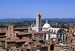 Europe, ITA, Italy, Tuscany, Siena, Cathedral Santa Maria Assunta, Typical view....[ For each utilisation of my images my General Terms and Conditions are mandatory. Usage only against use message and proof. Download of my General Terms and Conditions under http://www.image-box.com or ask for sending. A clearance before usage is necessary...Material is subject to royalties. Each utilisation of my images is subject to a fee in accordance to the present valid MFM-List...Contact | archive@image-box.com | www.image-box.com ]