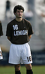 Lehigh's Patrick Starsinic on Sunday, November 19th, 2006 at Koskinen Stadium in Durham, North Carolina. The Duke Blue Devils defeated the Lehigh University Mountain Hawks 3-0 in an NCAA Division I Men's Soccer Championship third round game.