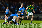 Adrian Spillane Kerry in action against Brian Fenton Dublin in the National League in Austin Stack park on Saturday night.