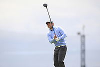 Pablo Larrazabal (ESP) on the 5th tee during Round 1 of the Open de Espana 2018 at Centro Nacional de Golf on Thursday 12th April 2018.<br /> Picture:  Thos Caffrey / www.golffile.ie<br /> <br /> All photo usage must carry mandatory copyright credit (&copy; Golffile | Thos Caffrey)