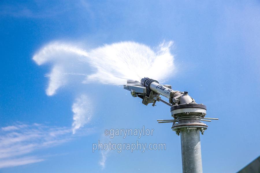 Raingun irrigating