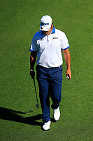 Hideki Matsuyama (JPN) on the 15th green during Wednesdays preview at the The Masters , Augusta National, Augusta, Georgia, USA. 10/04/2019.<br /> Picture Fran Caffrey / Golffile.ie<br /> <br /> All photo usage must carry mandatory copyright credit (&copy; Golffile | Fran Caffrey)