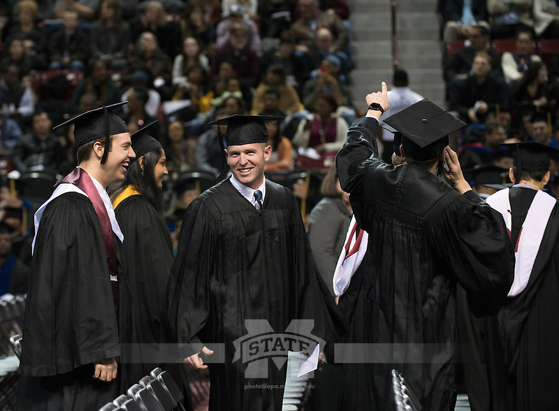 Processional for Fall Commencement 2016<br />  (photo by Beth Wynn / &copy; Mississippi State University)