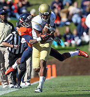 Georgia Tech football competes against Virginia in Charlottesville, VA. Photo/Andrew Shurtleff