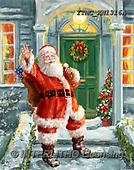 Marcello, CHRISTMAS SANTA, SNOWMAN, WEIHNACHTSMÄNNER, SCHNEEMÄNNER, PAPÁ NOEL, MUÑECOS DE NIEVE, paintings+++++,ITMCXM1316A,#X#