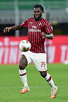 Franck Kessie of AC Milan during the Serie A football match between AC Milan and Atalanta BC at stadio Giuseppe Meazza in Milano ( Italy ), July 24th, 2020. Play resumes behind closed doors following the outbreak of the coronavirus disease. <br /> Photo Image Sport / Insidefoto