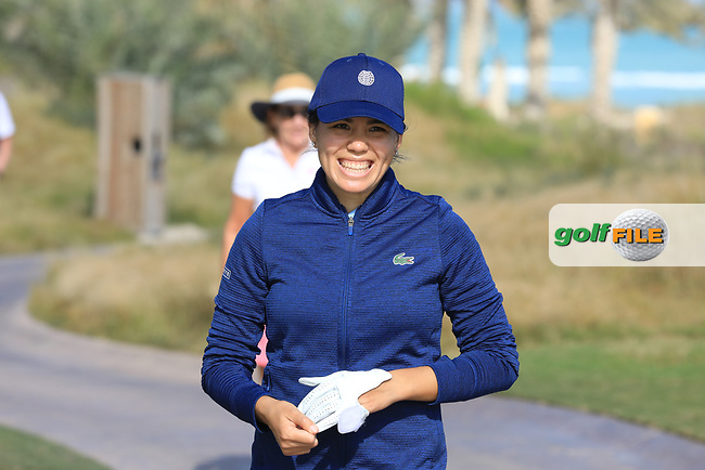 Isabelle Boineau (FRA) during the second round of the Fatima Bint Mubarak Ladies Open played at Saadiyat Beach Golf Club, Abu Dhabi, UAE. 11/01/2019<br /> Picture: Golffile | Phil Inglis<br /> <br /> All photo usage must carry mandatory copyright credit (&copy; Golffile | Phil Inglis)