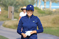 Isabelle Boineau (FRA) during the second round of the Fatima Bint Mubarak Ladies Open played at Saadiyat Beach Golf Club, Abu Dhabi, UAE. 11/01/2019<br /> Picture: Golffile | Phil Inglis<br /> <br /> All photo usage must carry mandatory copyright credit (© Golffile | Phil Inglis)