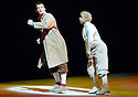 Herges Adventures of Tin Tin directed by Rufus Norris. A Young Vic Theatre Production. With Russell Tovey as Tin Tin ,Simon Trinder as Snowy. Opens at the Barbican Theatre on 14/12/05. CREDIT Geraint Lewis